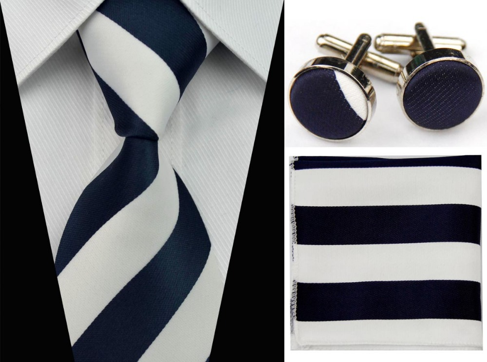 UN6 Men Classic Accessories Blue Navy Red Yellow Ties Smooth Formal ...