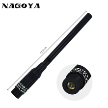 NAGOYA NA-774 SMA-M Male VHF UHF 144/430MHz Dual Band Antenna Walkie Talkie Two Way Radi  for Baofeng UV-3R For Yaesu VX-3R VX-7