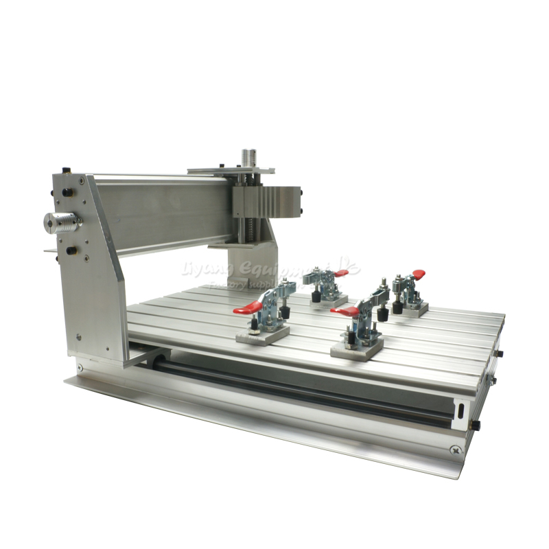 wood cnc router 3040Z-DQ mill frame aluminum table alloy engraving machine part 4axis cnc router 3040z vfd800w engraving machine cnc carving machine cnc frame assembled