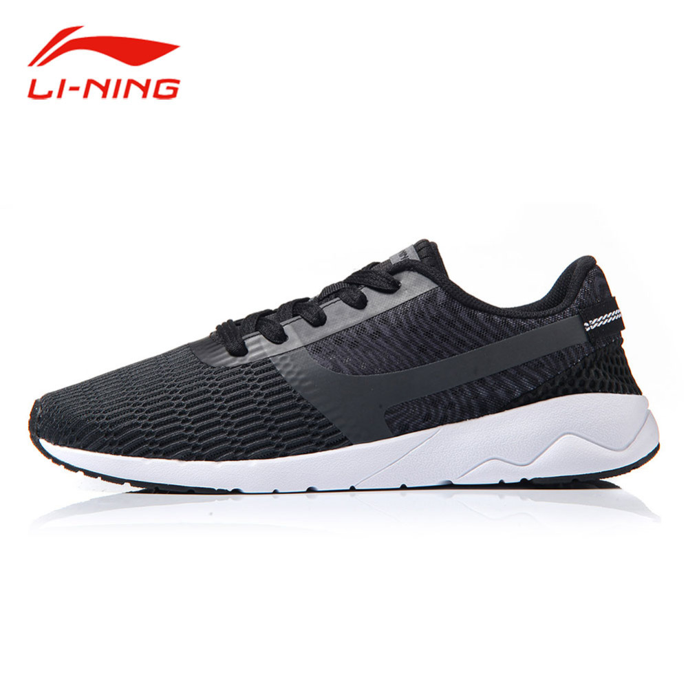 Li Ning Men Summer Walking Jogging Shoes Breathable Mesh Anti-Slip Light Shoes LINING Heather Sports Sneakers AGCM041 li ning brand men walking shoes lining heather sports life breathable sneakers light comfort sports lining shoes agcm041