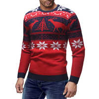 Male Thin Fashion Brand Sweater For Mens Cardigan Slim Fit Jumpers Knitwear Warm Autumn Christmas Deer Sweater Casual Clothing
