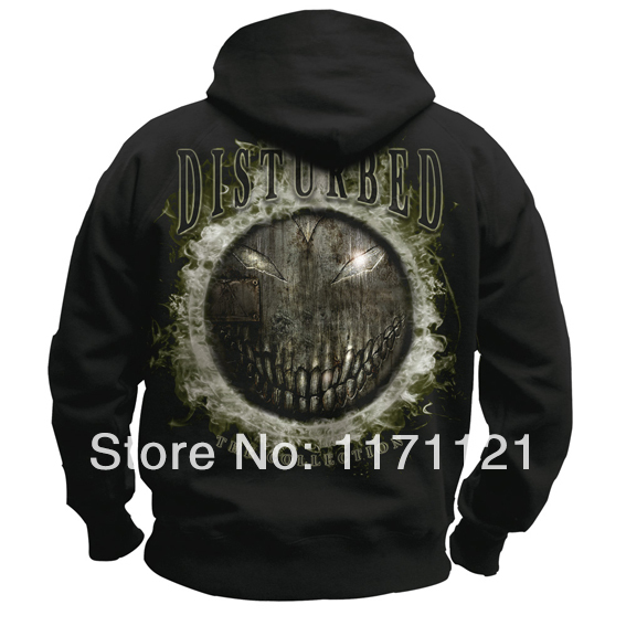 Free shipping Disturbed heavy metal Licensed Indestructible The Sickness Believe Hoodie