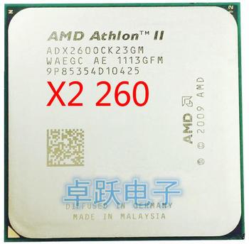 Processeur AMD Athlon II X2 260 3.2 GHz, double cœur, prise AM3, livraison gratuite