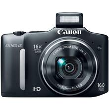 USED,Canon SX160 IS 16.0 MP Digital Camera with 16x Wide-Ang