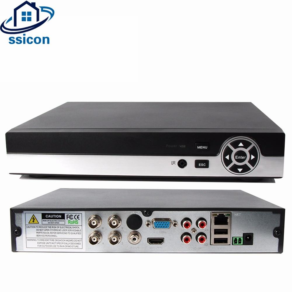 SSICON H.264 4CH 1080N 25fps 5IN1 CCTV Video Recorder 4 Channel AHD DVR Hybird NVR AHD/TVI/CVI/CVBS/IPC Camera Video Recorder new 4 ch channel h 264 home network 5 in 1 mini cctv 1080p hdmi ahd tvi cvi dvr onvif nvr p2p security video recorder systems