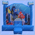 Nemo Inflatable Bouncy Castle,10ft Inflatable Jumping Castle, Cheap Small Inflatable Castle,Indoors Bouncy Castle for Kids