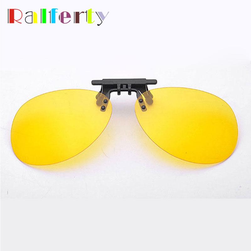 3a1f03ad5d7 Ralferty Mirrored Polarized Clip On Sunglasses Men Pilot Flip Up Sunglass  Clips For Myopia Glasses Polaroid UV400 Goggles Oculos-in Sunglasses from  Apparel ...