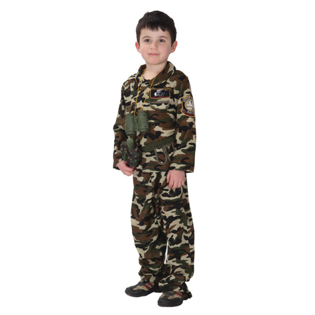 Child Boys Kids Army Soldier Fancy Dress Costume Party Uniform Military Outfit  sc 1 st  AliExpress.com : army fancy dress costumes  - Germanpascual.Com