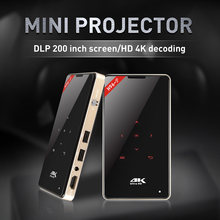 KEBIDUMEI H96-P Mini Projetor dlp Android Projetor de Bolso 4 k 2G S905 16G Amlogic 2.4G 5.8G wi-fi BT4.0 Projetor de Home Theater