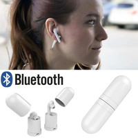 Wireless Bluetooth V4.2 Headset Mini In-Ear Earphone Built-in MIC For iPhone Stereo Headphone for Cell Phone MP3