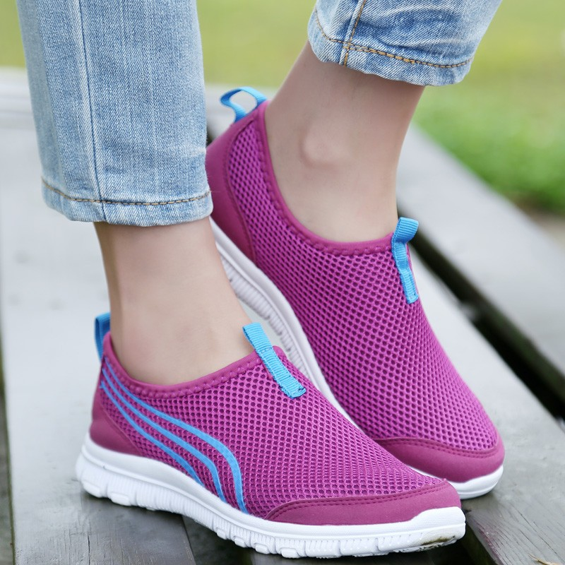 LEMAI New Trend Sneakers For Women Outdoor Sport Light Running Shoes Lady Shoes Breathable Mujer Zapatillas Deportivas fb001-7 27