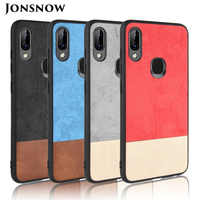 JONSNOW Phone Case for Lenovo K5 Pro L38041 Colorblock Fabric Style Soft TPU Cover for Lenovo S5 Pro L58041 Protective Cases