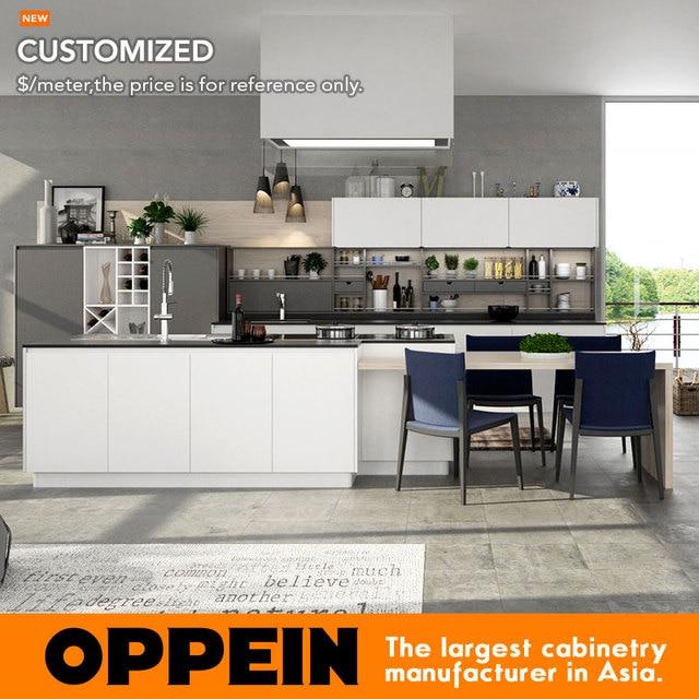 Gabinete de cocina Lacado blanco caliente cliente hizo gabinetes de ...