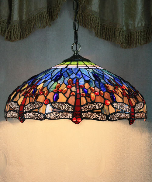 Best Sell 16 Tiffany Style Stained Glass Gem Lamps Pendant Lights
