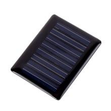 0.2W 5V DIY Mini Solar Panel Sun Power Charger Module Solar System Solar Cells Charger 44x35mm #63072