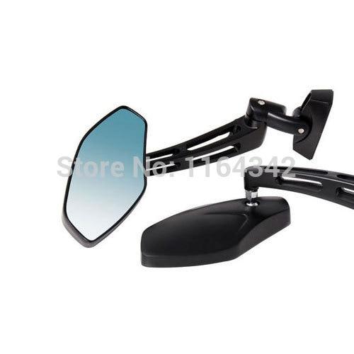 2x Motorcycle Matte Black Sport Mirrors for Honda CBR 250 600 F4i 929 954 1000 RR Kawasaki GPz750 Ninja 300 Yamaha Honda Suzuki