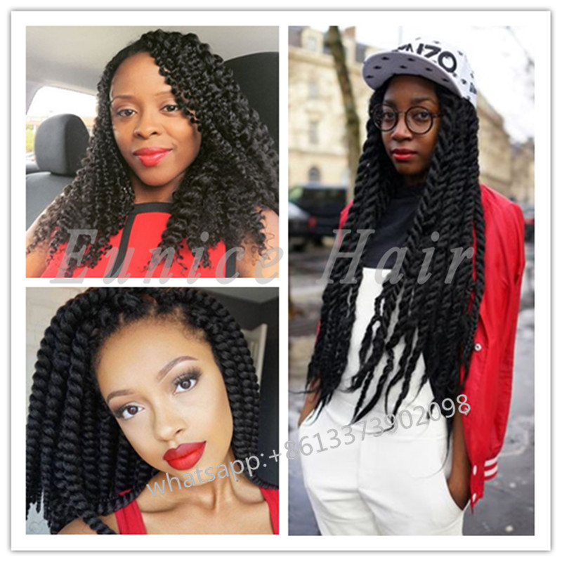 CROCHET BRAIDS HAVANA MAMBO TWISTS Individual Braids Grace Hair ...