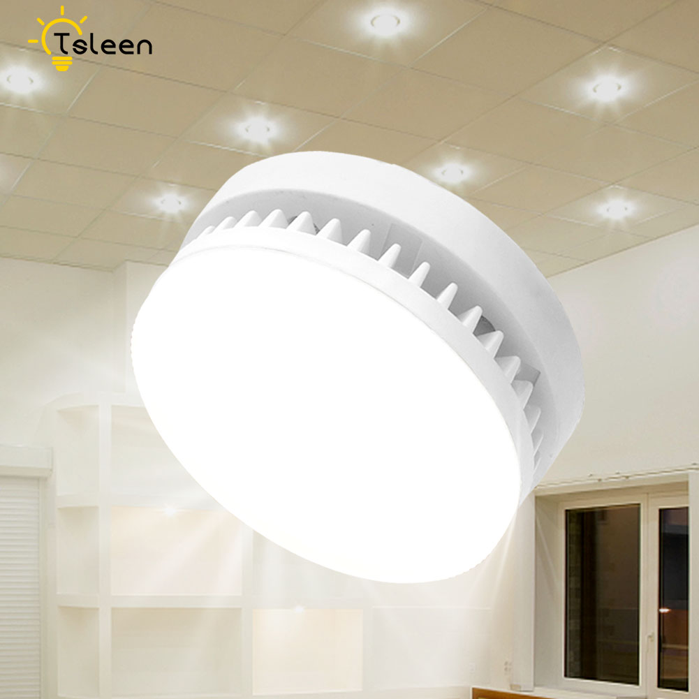 Bright GX53 Light Bulb 5W 7W 9W 12W 15W 18W LED Downlight Led Lamp GX53 Smd2835 GX 53 Base LED LAMP AC85-265V Warm White Light
