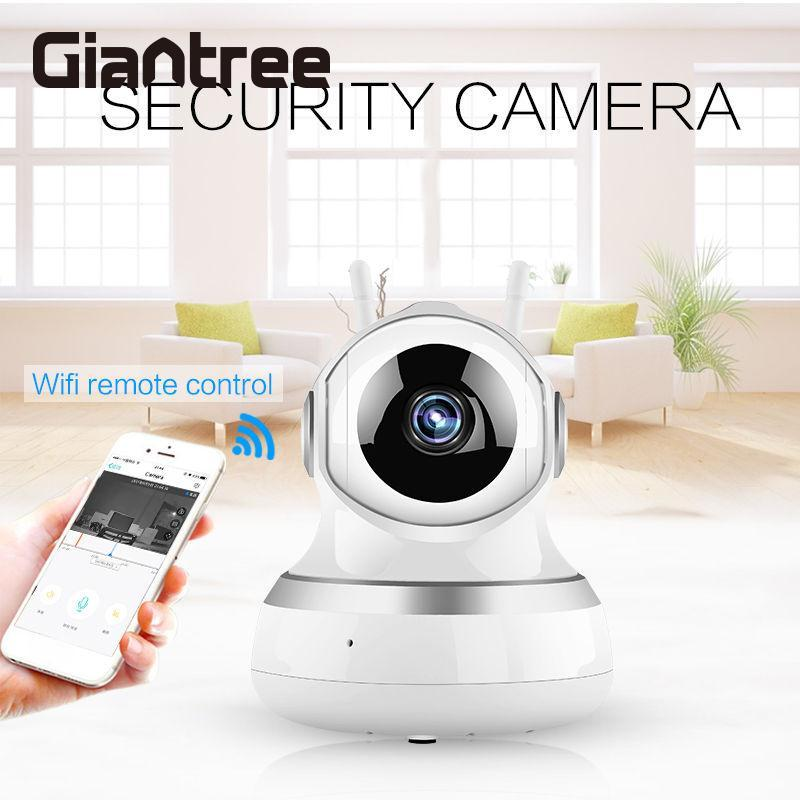 giantree HD 360 degrees IP Camera Durable Dual Antenna Baby Monitor Network Surveillance Camera Infrared night vision Camera giantree recorder hd ip camera 360 degrees baby monitor wireless network camera night vision audio video home surveillance