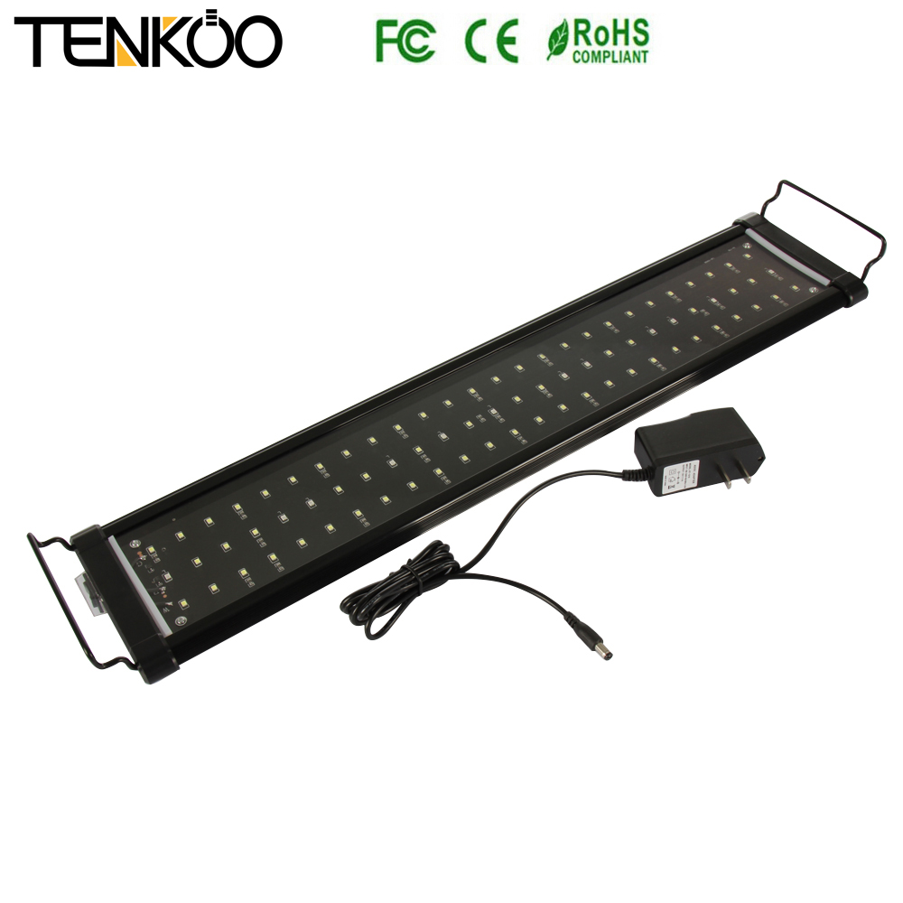 1PCS Aquarium light Fish Tank Epistar SMD Led Light Lamp 4 Mode 30cm 40cm 60cm 90cm