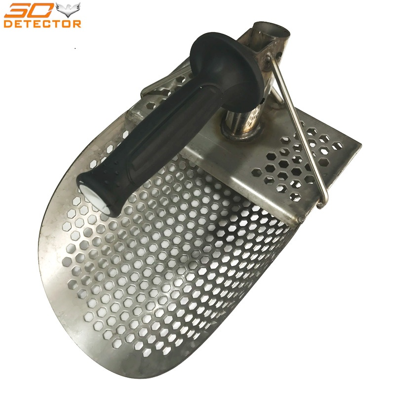 Hand held gold detector stainless steel metal sand scoop hand held beach sand scoop stainless steel metal sand scoop