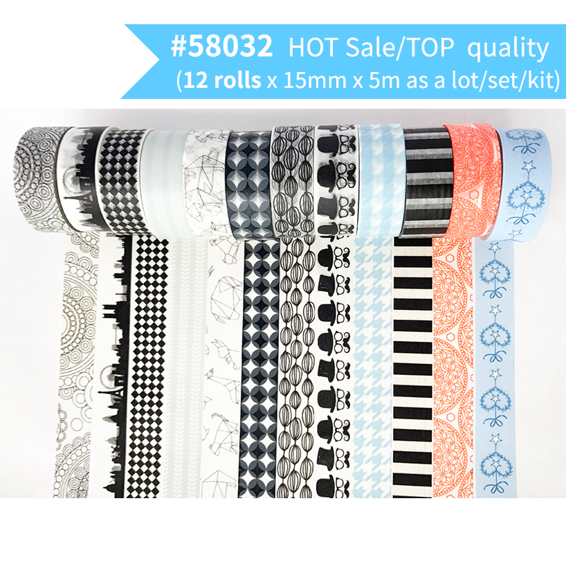 Free Shipping and Coupon washi tape,Washi tape,basic design,Optional collocation,on sale,#6682-6719,size15mm*5m hot sale 501 6719 x4150a 1000m network card 501 6719 04 hba