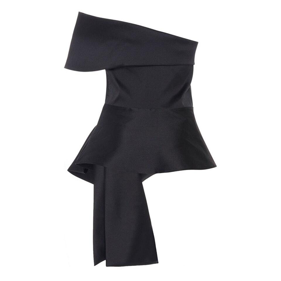 48097540c80 Kinikiss женский блузка кружева черный с плеча slash шеи повседневная блузка  рубашка лето 2017 женщины топы мода sexy блузка