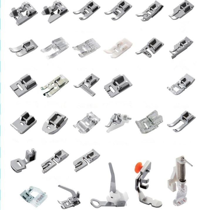 d167a2d96 32 قطعة/المجموعة المنزلية آلة الخياطة كوى القدم متعددة الوظائف الخياطة  الملحقات