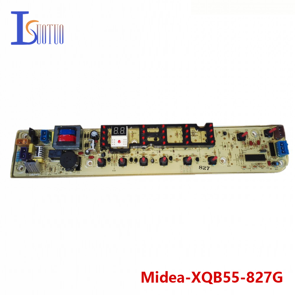 Midea washing machine brand new computer board XQB55-827G XQB55-9937G RB65-5037GF  brand new washing machine timer dxt 15f g 3 5a 250v 180 degree