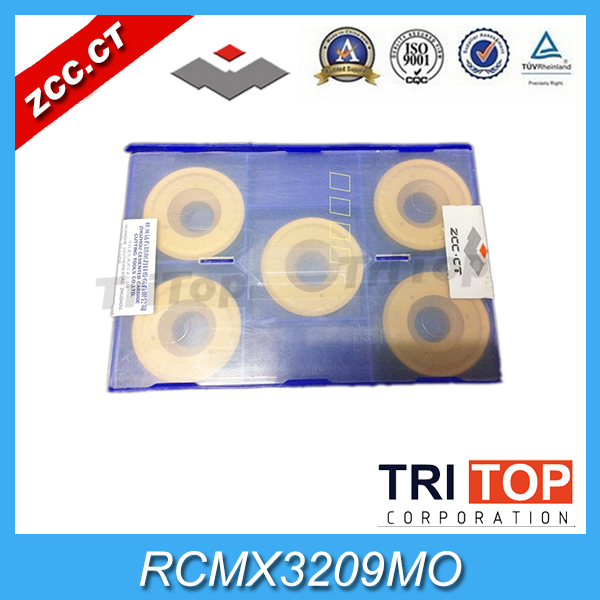 Free shipping RCMX ZCCCT Cemented Carbide inserts RCMX3209MO YBC251 CNC tool part cutter external parting and grooving tools grooving tool holder qehd2525l22 qehd2525r22 for zccct carbide inserts zthd0504 mg