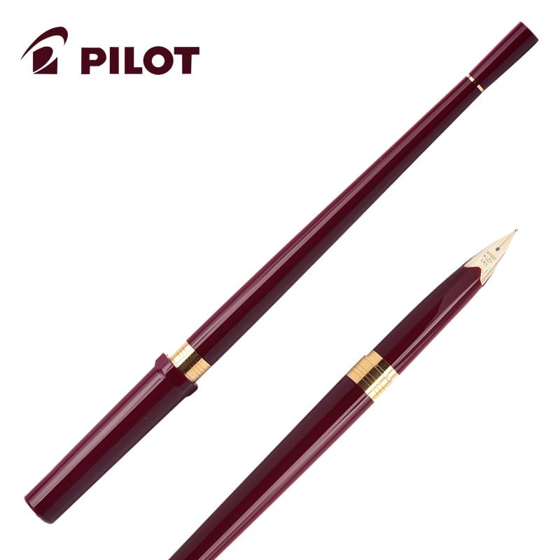 Original PILOT Baile Ling Yun 14K gold fountain pen long pen free shipping Slim gold pen