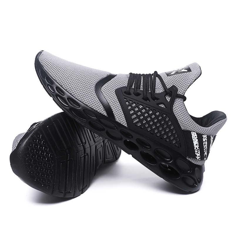 Обувь мужские кроссовки летние кроссовки мужские беговые кроссовки Zapatillas Deportivas Hombre дышащая повседневная обувь Sapato Masculino Krasovki