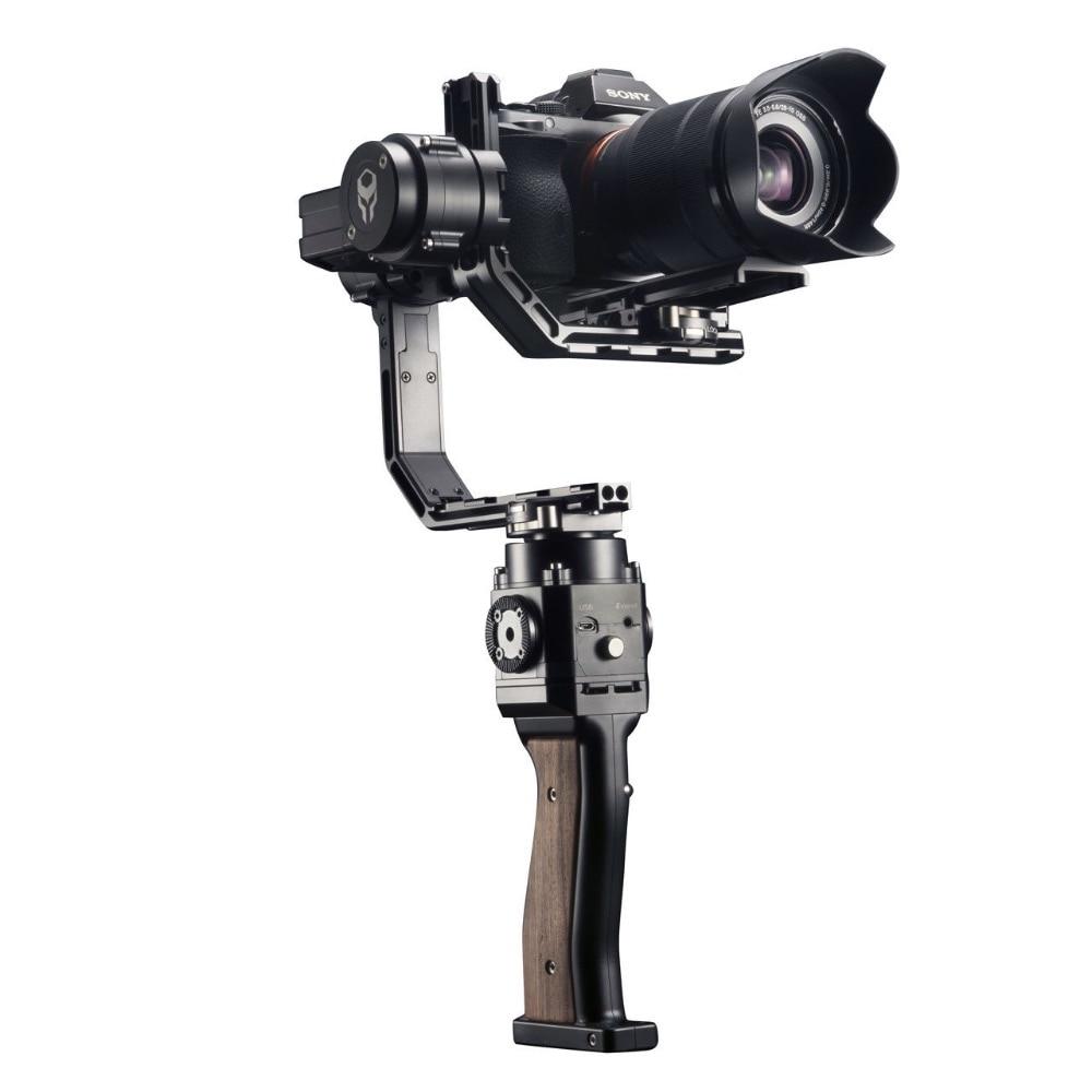 Gravity 3-Axis Stabilizer DSLR Handheld Gimbal load 3KG for SONY Mirrorless DSLR  Smartphone DSLR VS Zhiyun Crane afi vs 3sd handheld 3 axle brushless handheld steady gimbal stabilizer for canon 5d 6d 7d for sony for gh4 dslr q20185