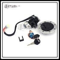 Metal Motorcycle Lockset Ignition Key Switch Fuel Gas Cap Lock Keys For GSXR600 GSXT750 GSX600 GSX750 GSX1200 TL1000S TL1000R