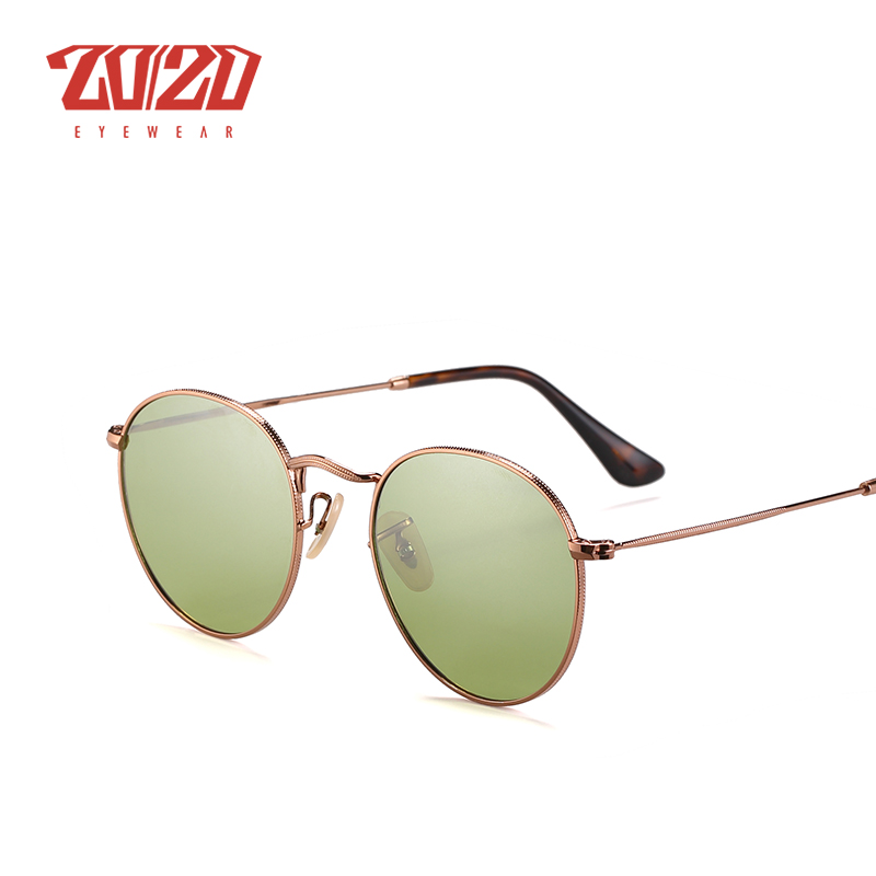 20/20 Brand New Unisex Sunglasses Men Polarized Lens Vintage Round Metal Eyewear Accessories Sun Glasses for Women 17018-1 15
