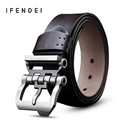 IFENDEI Vintage Cowhide Leather Belt's Men Leisure Pin Buckle Belts for Men High Quality Belts Waist For Jeans Free Shipping New