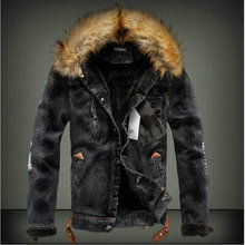Lion Glory Autumn Jacket Veste Homme Thick Velvet Men Winter Coat Faux Leather