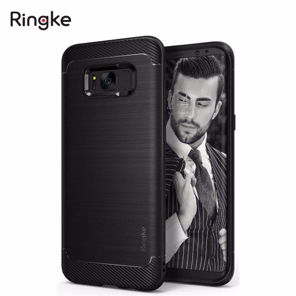 imágenes para RINGKE ONYX Galaxy S8 / S8+ Case flexible durable antideslizante defensiva de tpu casos para Samsung Galaxy S8 / Galaxy S8 Plus