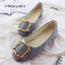Plardin 2019 Fashion Flock Women's Flats For New Summer Slip