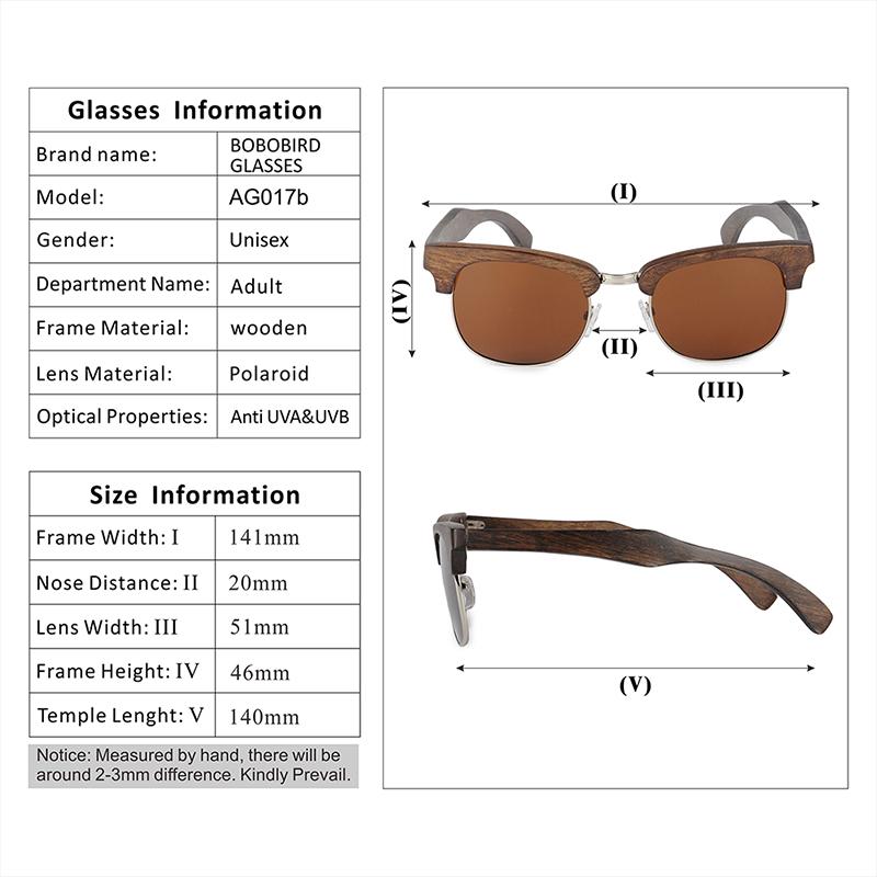 Half-rimmed glasses BOBO BIRD sunglasses women (18)