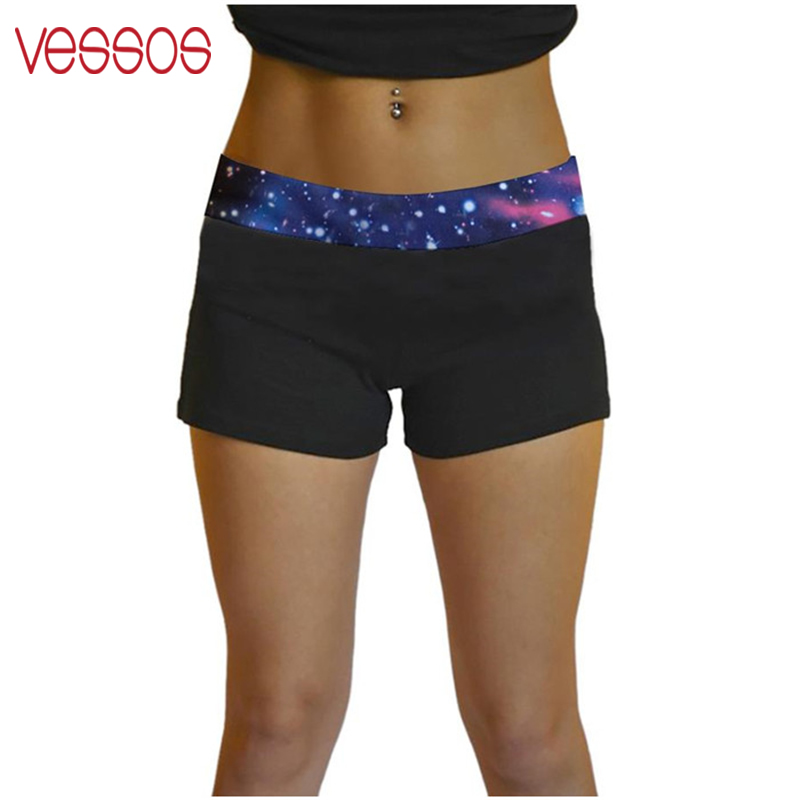 Fashion Women Super Soft Skinny Elastic Stretch Fitness Hot   Shorts   Workout Cool   Short   Stretch Fitness   Shorts   6 colors