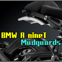 Motorcycle Mudguards Handmade Aluminium alloy Back Fender Wheel Extension Mudguard For BMW zbw 058a PURE R ninet
