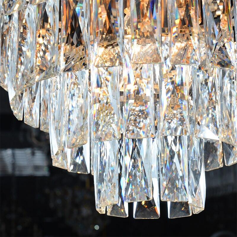 2019 New Arrival Modern Crystal Pendant Lights 220V nordic light lamparas de techo colgante moderna for 2019 New Arrival Modern Crystal Pendant Lights 220V nordic light lamparas de techo colgante moderna for Living room parlor study