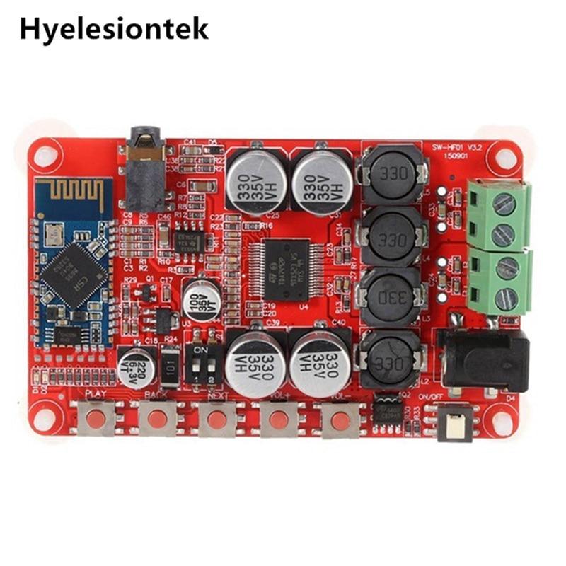 TDA7492P 50W+50W Bluetooth Amplifiers Audio Board 4.0 Wireless Digital Audio Receiver Amplifier Board Dual channel