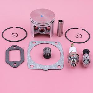 Image 2 - Kit de anel de pistão anel de 47mm, para stihl ms361 silenciador de cilindro junta válvula de descompressão rolamento motosserra de substituição peça