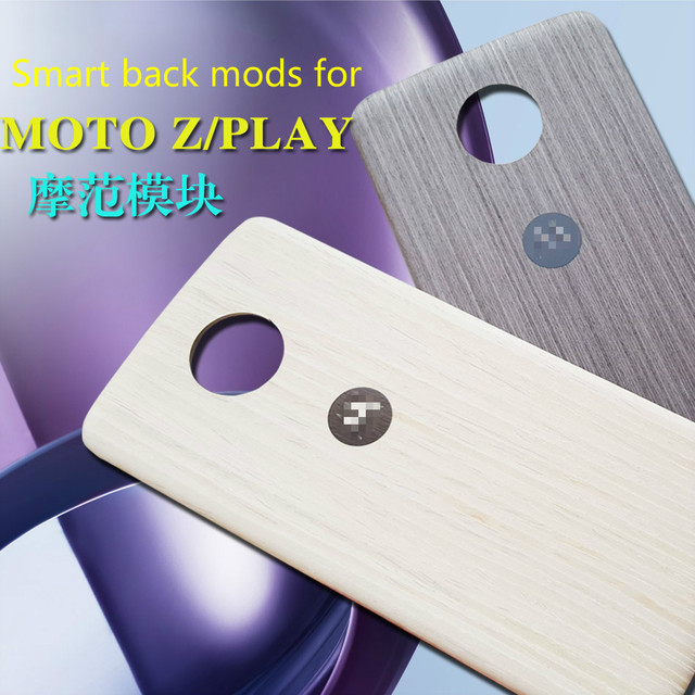 US $21 88 |Original Style for Moto mods Case for Moto Z Play Back Cover  Wood Pattern Nylon Back Battery Housing Shield for Moto z mods-in  Half-wrapped