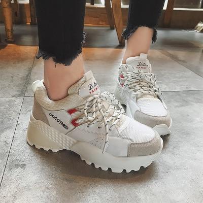 De Dames Photo Sports Épaisseur Semelles Rue Tir Photo Style Ceinture Nouveaux Mode as Plancher 2018 As À Épaisses La Blanc Chaussures xn4qA0YUWw