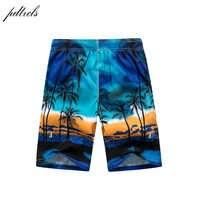 De secado rápido pantalones cortos de playa para Hombre Pantalones cortos de moda impreso pantalones cortos de playa Bermudas MasculinaDe Marca Homme corto