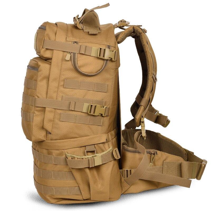 Sac à dos tactique de l'armée militaire en plein air 50L sac à dos de randonnée de Camping de grande capacité sac à dos de voyage bolso militar hombre - 2