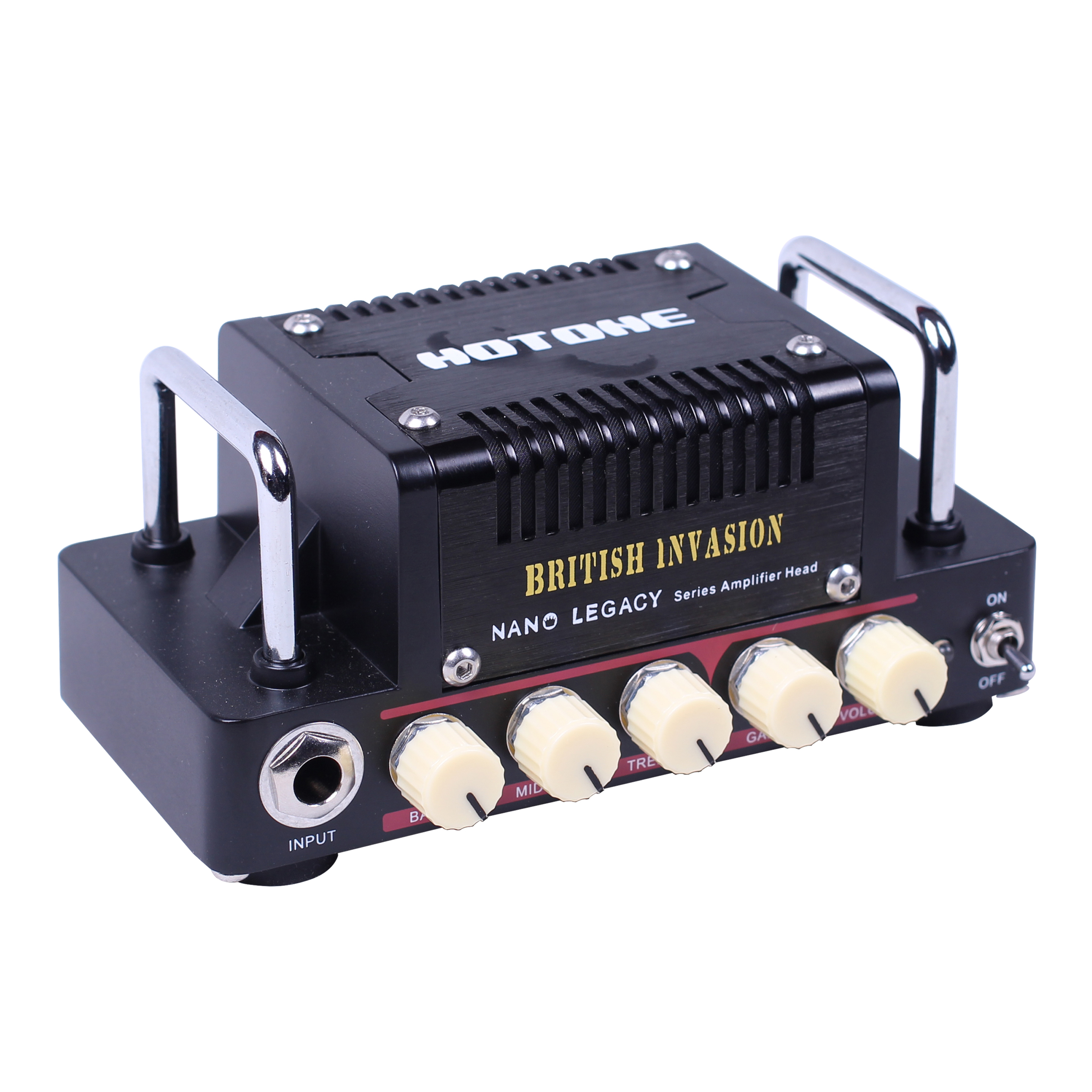 где купить Hotone British Invasion Guitar Amplifier Head Nano Legacy Series 5 Watt Outputs 3 Band EQ controls Electric Guitar Amp по лучшей цене